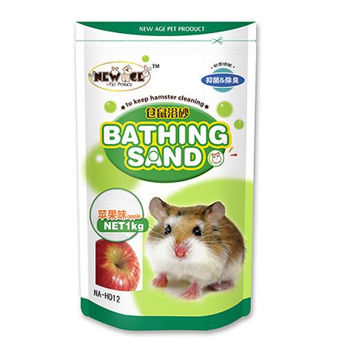 NEW AGE 햄스터 목욕모래 사과향 1kg